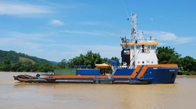 voyaging iguazu ship delivery TOS