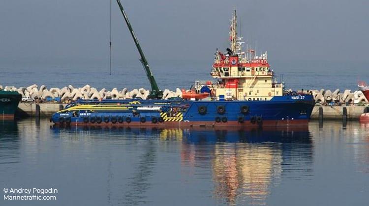 harbor hadi 27 ship delivery TOS