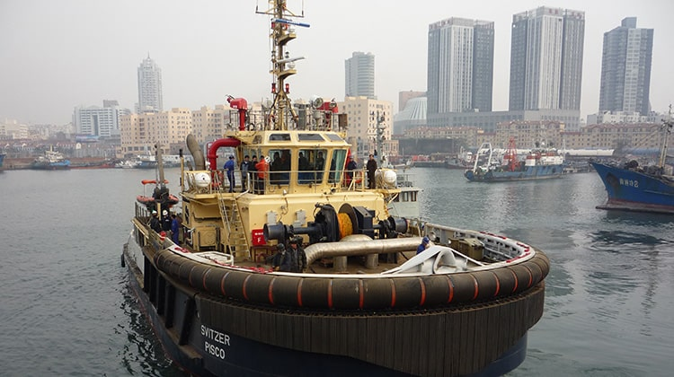 harbour svitzer chincha ship delivery TOS