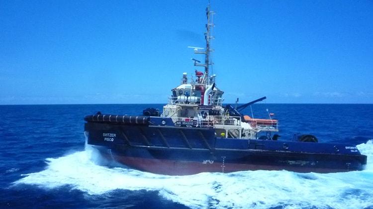 sailing svitzer chincha ship delivery TOS