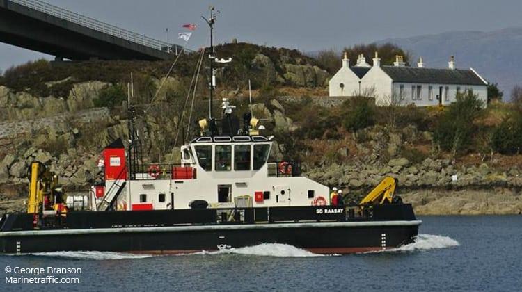 voyaging sd raasay ship delivery TOS