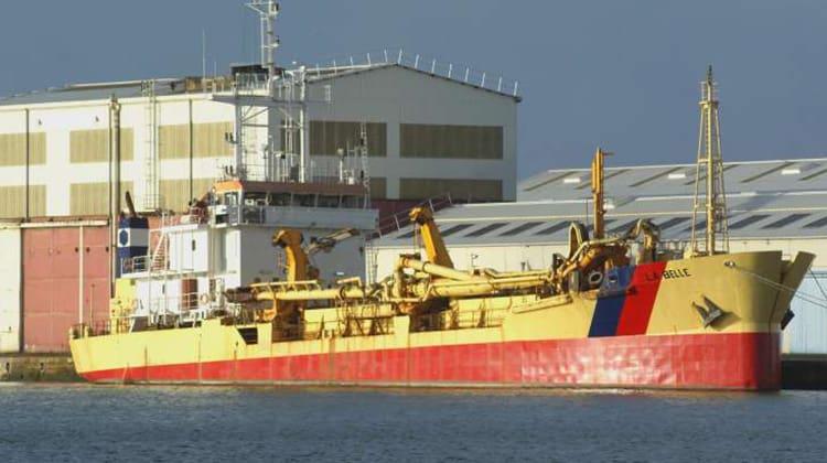 harbor la belle ship delivery TOS