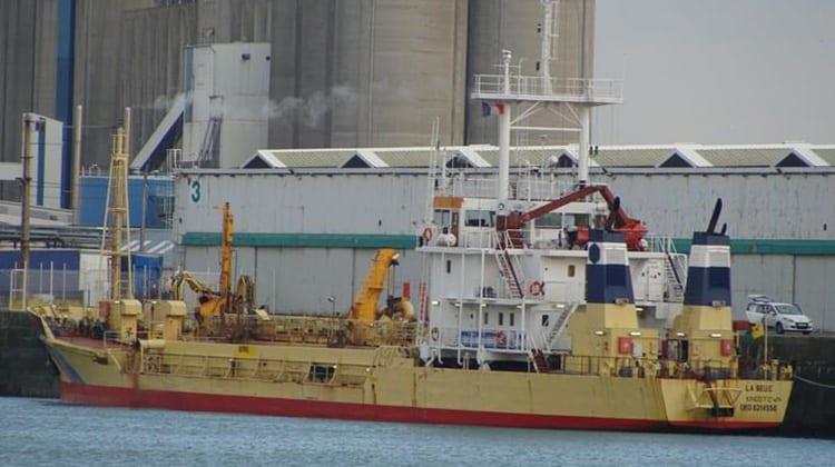 harbour la belle ship delivery TOS