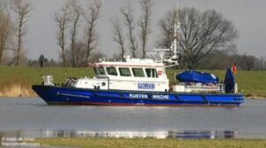 sailing wasserschutz ship delivery TOS