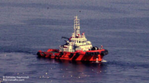 sailin caleu ship delivery TOS
