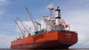 sailing almar ship delivery TOS