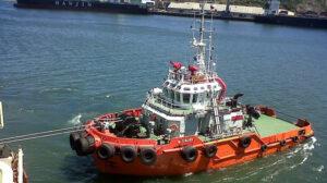 towing caleu ship delivery TOS