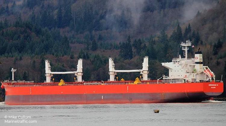 voyaging almar ship delivery TOS
