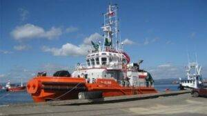 Ship Delivery tug Elqui TOS