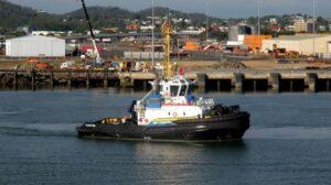 Ship Delivery Sailing Smit Tondoon TOS