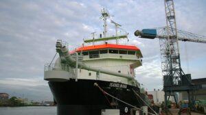 Ship Delivery Vessel TSHD Isandlwana TOS