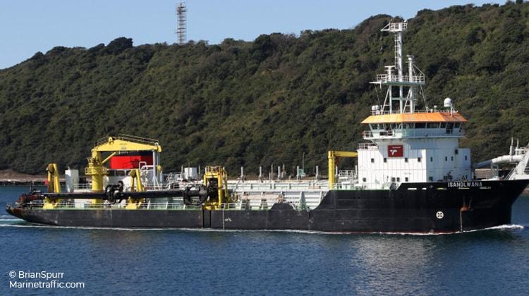 sailing isandlwana ship delivery TOS