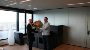 Celebrating five years jubilee of Rondald van der Kolk