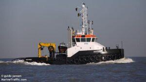 Ship Delivery Sailing Zeetijger TOS