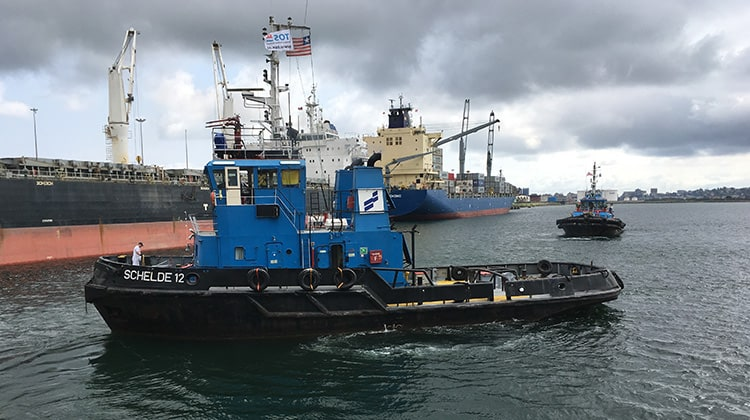 Ship Delivery Tug SD Schelde 12 TOS