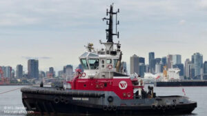 sailing seaspan raven ship delivery TOS