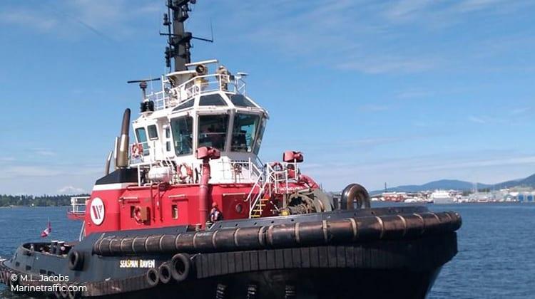 voyaging seaspan raven ship delivery TOS