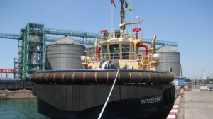 Ship Delivery Svitzer Zaire TOS
