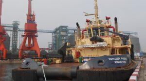 Ship Delivery TOS Svitzer Padrao tug