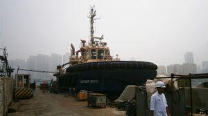 Ship Delivery TOS Svitzer Soyo tug