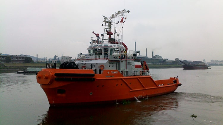 Ship Delivery Sailing Yaman TOS