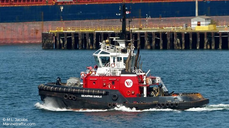 sailing seaspan eagle ship delivery TOS