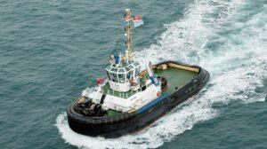 Ship Delivery TOS Smit Dane Tug