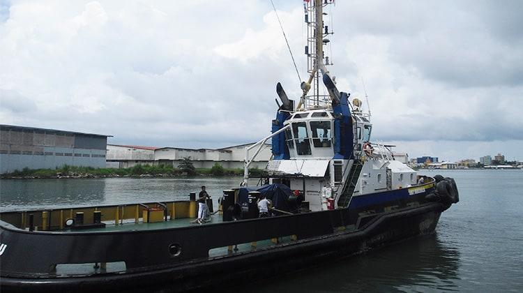 Tug SMIT Taboguilla Ship Delivery TOS