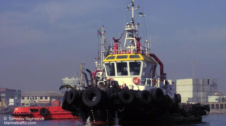 harbour chorlo ship delivery TOS