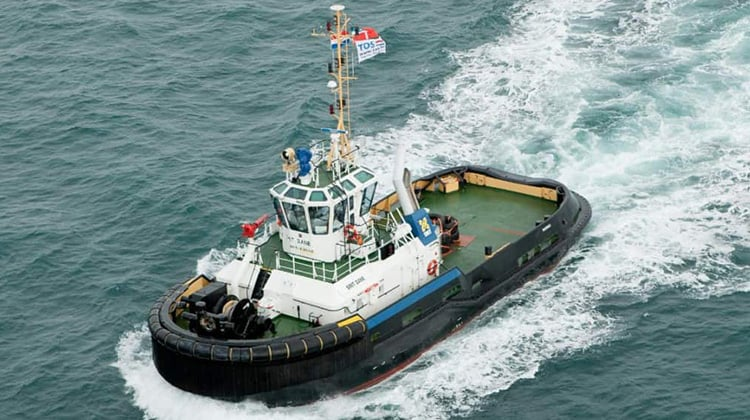 sailing smit dane ship delivery TOS