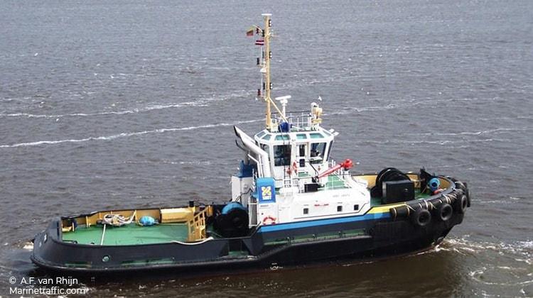 sailing smit venta ship delivery TOS