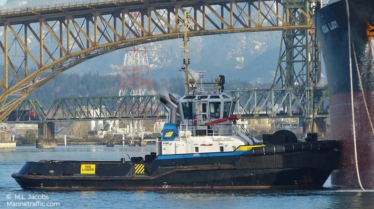 voyage smit venta ship delivery TOS