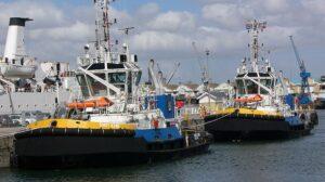 Ship Delivery Tug Smit Emoe TOS