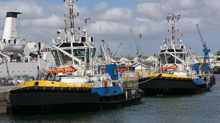 Ship Delivery Tug Smit Emoe TOS