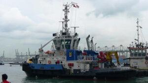 Tug Smit Kiwi Ship Delivery TOS