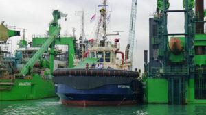 Ship Delivery Tug Svitzer Pinda TOS