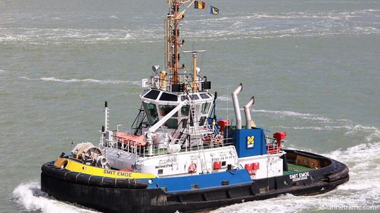 sailing smit emoe ship-delivery TOS