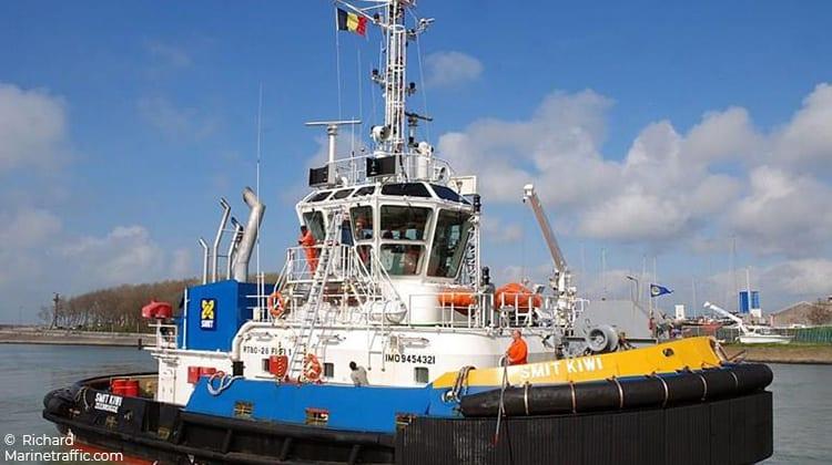 sailing smit kiwi ship delivery TOS