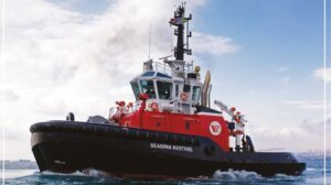 Ship Delivery TOS Seaspan tug