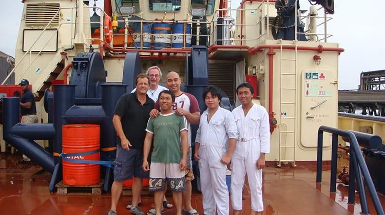 Ship Delivery TOS Svitzer Kestrel