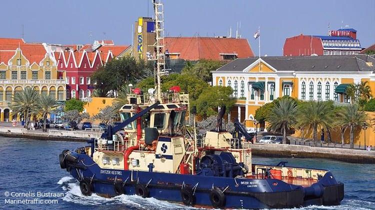 sailing svitzer kestrel ship delivery TOS