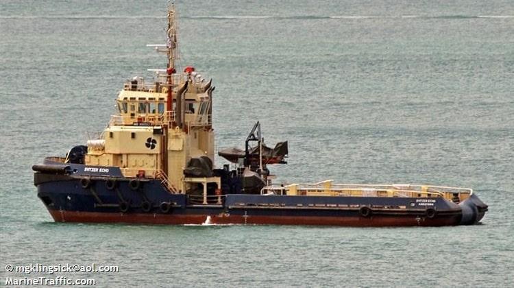 Ship Delivery TUG Svitzer Echo
