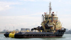 voyaging svitzer foxtrot ship delivery TOS