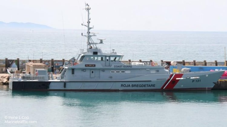 harbour iliria ship delivery TOS