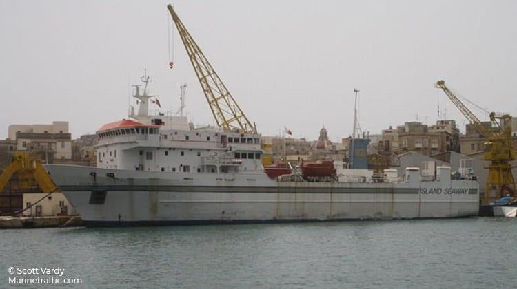 harbour island seaway ship delivery TOS