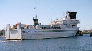 voyaging island seaway ship delivery TOS