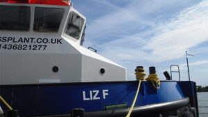 Ship Delivery Liz F TOS Shoalbuster