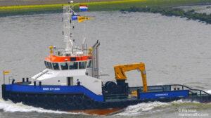 sailing liz f ship delivery TOS