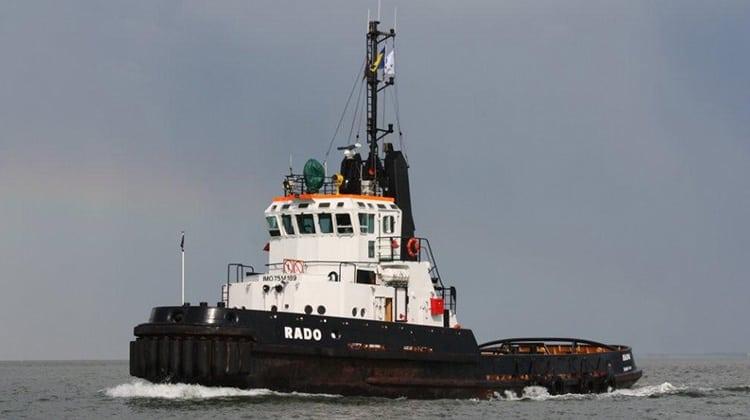 Ship Delivery Rado TOS tug
