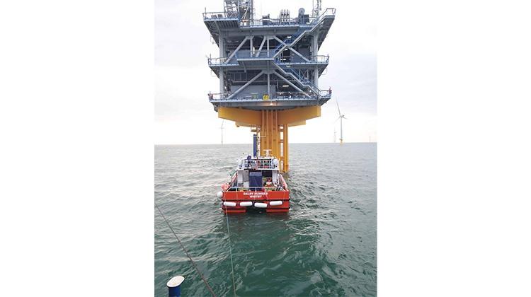 TOS offshore contramaris Londan Array offshore